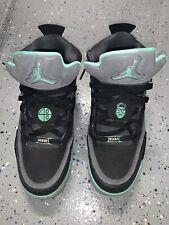 Jordan Son Of Mars Black-Green Glow-Cement Grey SZ 10 580603-030 (25477-2)