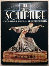 ART DECO SCULPTURE chryselephantine statuettes VICTOR ARWAS book hardcover