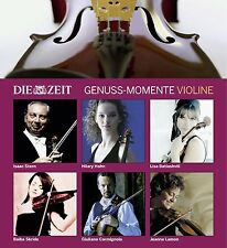 DIE ZEIT:GENUSS-MOMENTE VIOLINE -I.STERN/H.HAHN/+ (BEETHOVEN/VIVALDI/+) 6CD NEU