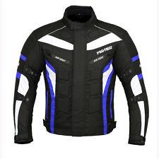 ProFirst Motorbike Waterproof Cordura Jacket Motorcycle Armours Jacket Blue
