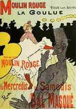 A4 photo toulouse lautrec les affiches illustrees 1886 1895 1896 moulin rouge pr