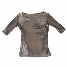 ISSEY MIYAKE Foil Print T-Shirt Size 3(K-41313)