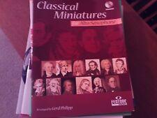 arr Gerd Philipp: Classical Miniatures,  alto saxophone (Fentone) has CD