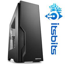 DEEPCOOL DUKASE V2 ATX GAMING COMPUTER CASE WINDOW SIDE MOUNT HDD USB 3 + SOUND