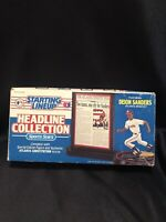 Deion Sanders 1993 Starting Lineup Headline Collection