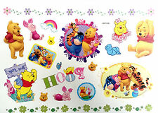 Waterproof Colorful Removable Temporary Tattoo DIY Winnie the Pooh Sticker