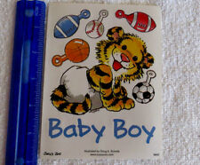Suzy's Zoo - BABY BOY - Sheet of Stickers