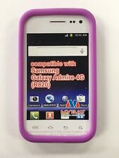 Samsung Galaxy Admire 4G Rubber SILICONE Soft Case Purple