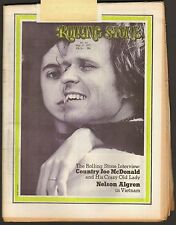 MAY 27 1971 ROLLING STONE MAGAZINE NO. 83 COUNTRY JOE McDONALD