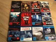 Filmesammlung Horror /12 Filme- DVD - Blu-ray