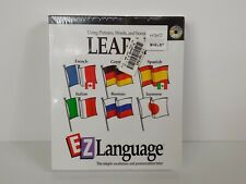 IMSI EZ Language Software Learn Spanish German French Italian Russian Japanese