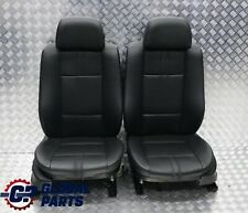 *BMW X3 E83 LCI Heated Black Leather Front Left Right N/O/S Seat Seats Memory