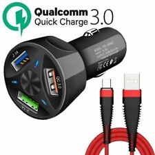 Car Charger USB Quick Charge 4.0 3.0 For Iphone X 8 Phone Fast Charg
