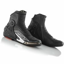 RST Tractech Evo III 3 CE 2341 Short Summer Race Motorcycle Boots Shoes - Black