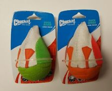 (Set of 2) Chuckit! Large Duck Diver Fetch Toys In Green And Orange