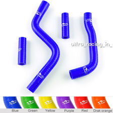 Blue YAMAHA YZ125 2003-2014 2004 2005 2006 2007 SILICONE RADIATOR HOSE PIPE KIT