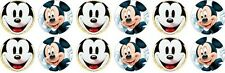 Mickey Mouse ~ Birthday ~ Edible Image Rice Paper cupcake Toppers x 12
