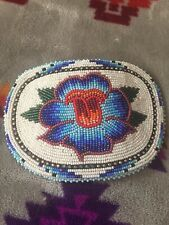 Native American Beadwork Hair Clip Shoshone Bannock made pow wow