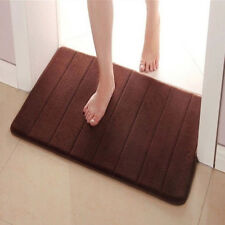 Absorbent Memory Foam Soft Carpet Bath Bathroom Bedroom Floor Mat Rug Non-slip