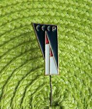 Rare Vintage Soviet Union Satellite Sputnik Era Space Souvenir Pin Badge