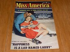 Miss America (v7/#33) 1950 Al Jaffe pencils, NICE BOOK! PATSY WALKER - WOW