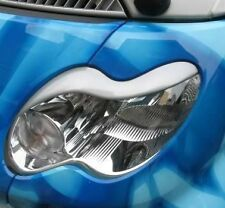 Headlight Eyelids Eyebrows Covers for 2003-2006 Smart Fortwo 450 2004 2005