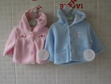 Baby  Clothes Fleece Fur Coat Jacket  Boy Girl Pink/ Blue 0 - 12 months