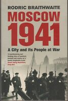BOOK MILITARY WAR MOSCOW 1941 446 PAGES ILLUSTRATED