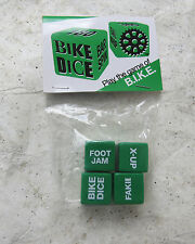 BIKE DICE GAME BMX CRUISER FREESTYLE GREEN