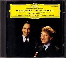 Shlomo MINTZ & ABBADO: MENDELSSOHN BRUCH Violin Concerto KREISLER Liebesleid CD