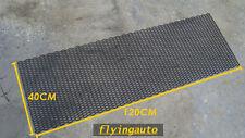 UNIVERSAL 3D HONEYCOMB ABS PLASTIC BLACK MESH GRILL 120 X 40 CM