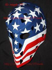 Gift Fiberglass Street Deck Roller Nhl Ice Hockey Goalie Helmet Mask Wolfe Ho28