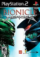 Bionicle Heroes Sony PlayStation 2 PS2 VERY Fast Ship World!
