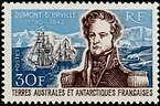"""TERRES AUSTRALES N°25 """"AMIRAL DUMONT D'URVILLE 30 F."""" NEUF xx TTB"""
