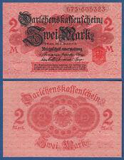 DARLEHENSKASSENSCHEIN 2 Mark 1914  KASSENFRISCH  Ro.52 c