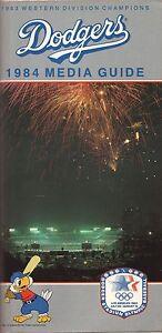 Los Angeles Dodgers--1984 Media Guide--Dodger Stadium