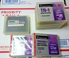 3M imation TR-1 Travan 400/800MB QIC MC Data Tape Cartridge NEW X2 + 5 USED LOT