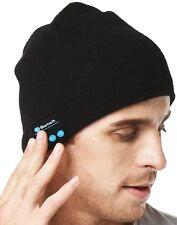 Unisex Bluetooth Beanie Smart Winter Knit Hat Musical Headphones