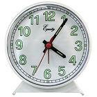 14076 Equity by La Crosse Battery Powered Analog Quartz Alarm Clock