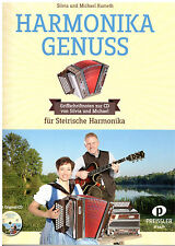 Steirische Harmonika Noten : Harmonika Genuss - (Kumeth) m. CD  - GRIFFSCHRIFT