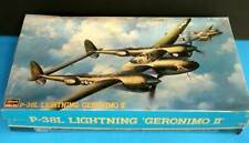 Hasagawa 1/48 P-38 Lightning GERONIMO II  Factory Sealed