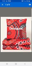 Desigual 2-in-1 Quilt Blanket In A Cushion Brand New