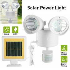 Solar Powered LED Street Light Motion Sensor Wall Flood Yard Outdoor Lamp Best