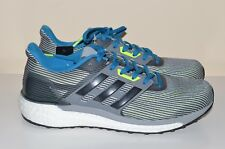 huge discount 0e759 5c907 NEW Adidas Energy Boost Supernova Grey Blue Green Men s 7 Running Shoes  Sneakers