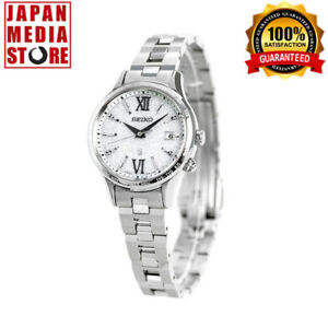 SEIKO LUKIA SSVV035 Solar Elegant Ladies Titanium Watch 100% GENUINE JAPAN