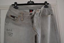 """MENS GENUINE DOLCE & GABANNA D&G RARE LIGHT GREY SILVER JEANS IN 32 """" W 32"""" L"""