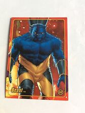 BEAST MARVEL FIGURE FACTORY SERIES 2 TRADING CARD 56