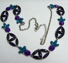 Premier Designs Blue & Purple Necklace