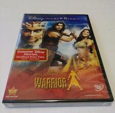 ONCE UPON A WARRIOR DVD Disney World Cinema Collection New Sealed W/ Magic Code