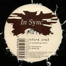 "IN SYNC POMPING WORLD 12"" RARE ORIGINAL vinyl IRDIAL 1994 47ird ins3"